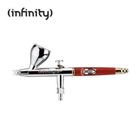 Harder & Steenbeck Infinity CR - naald set 0.15 fine line, verfbekker 2ml , Quick Fix - (126554)