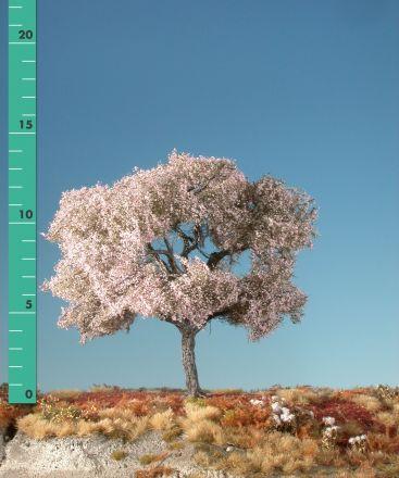 Silhouette Kersenboom - Rose - 1 (ca. 10-13cm) - H0 (1:87) - (227-15)