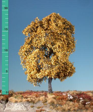 Silhouette Esdoorn - Late herfst (geel) - 3 (ca. 22-29cm) - H0 (1:87) - (230-34)
