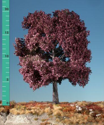 Silhouette Rode esdoorn - Zomer - 3 (ca. 22-29cm) - H0 (1:87) - (232-32)