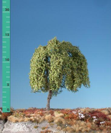 Silhouette Treurwilg - Vroege herfst - 2 (ca. 15-20cm) - H0 (1:87) - (240-23)