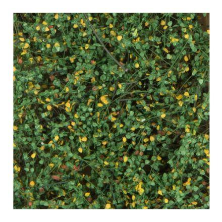 Silhouette Struiken / heggen - vroege herfst - 12 x 14 cm - (250-43)