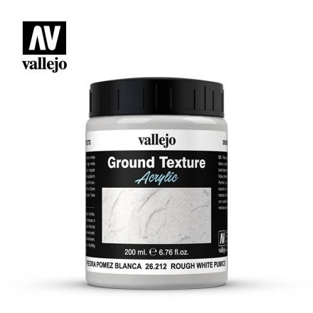 Vallejo Texture Paste - White Pumice Fine  - 200 ml - (26.212)