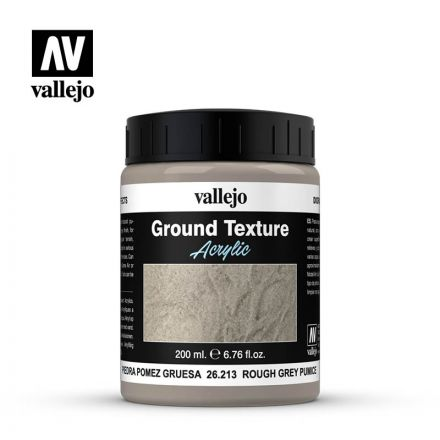Vallejo Texture Paste - Grey Pumice Rough - 200 ml - (26.213)