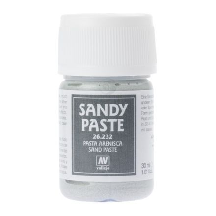 Vallejo Texture Paste - Sandy Paste - 35 ml - (26.232)