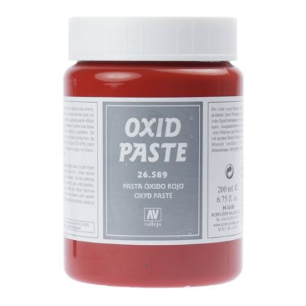 Vallejo Texture Paste - Red Oxide - 200 ml - (26.589)