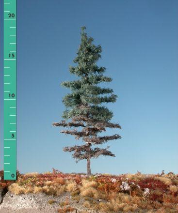 Silhouette Verweerde nordic spar - Zomer - 1 (ca. 10-13cm) - H0 (1:87) - (276-16)