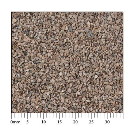 Minitec Standaard-Ballast - Rostbraun H0 (1:87) - Vergrote korrelgrootte conform AGN* - 5.000 ml - H0 (1:87) - (51-1361-04)