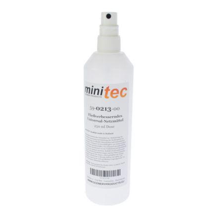 Minitec Vloeiverbeteraar Universeel bevochtigingsmiddel - 250 gr spuitfles - (59-0213-00)