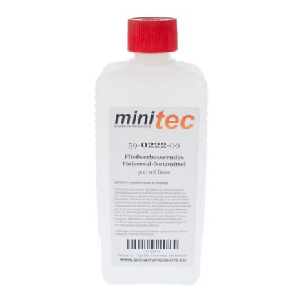 Minitec Vloeiverbeteraar Universeel bevochtigingsmiddel - 500 gr fles - (59-0222-00)
