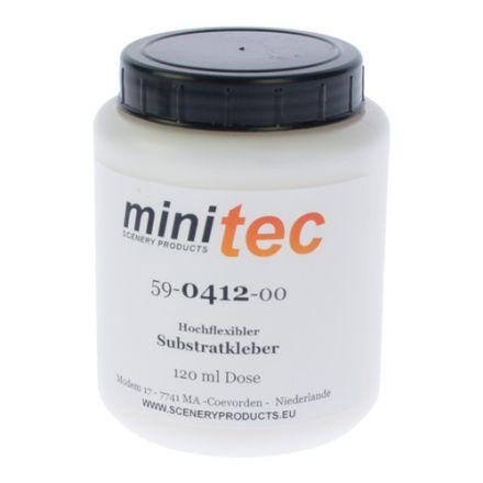 Minitec Hoog flexibele Substraat lijm - (Schouwpad/Beddingkant) - 120 gr pot - (59-0412-00)