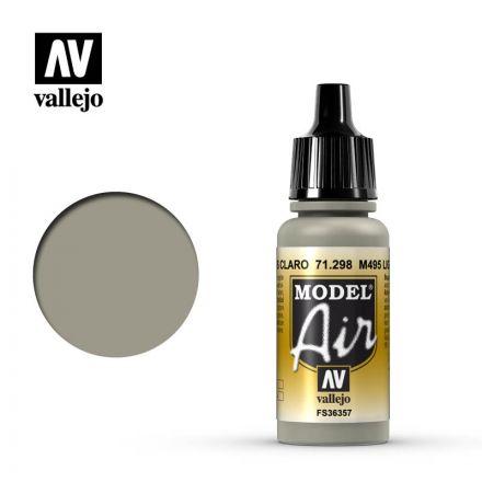 Vallejo Model Air - M495 Light Gray - 17 ml - (71.298)
