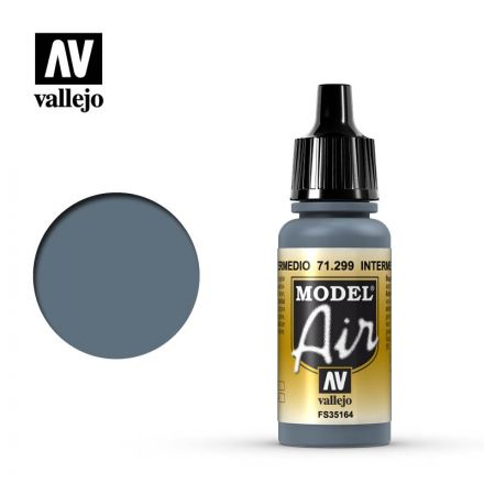 Vallejo Model Air - Intermediate Blue - 17 ml - (71.299)