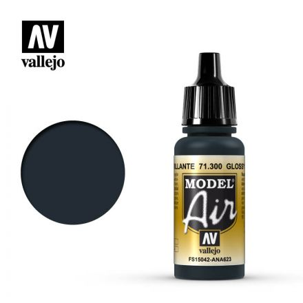Vallejo Model Air - Glossy Sea Blue - 17 ml - (71.300)