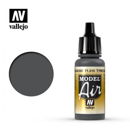 Vallejo Model Air - Tyre Black - 17 ml - (71.315)