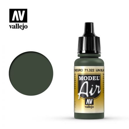 Vallejo Model Air - IJN Black Green - 17 ml - (71.322)