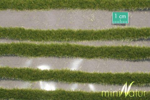 miniNatur Grasstrepen kort - Vroege herfst - ca. 15x4cm - H0 (1:87) - (718-23S)