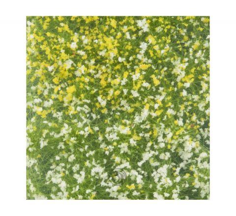 miniNatur Bloemen struiken - Lente - ca. 4 x15 cm - H0 (1:87) - (726-21MS)