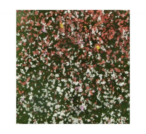 miniNatur Bloemen struiken - Zomer - ca. 4x15 cm - H0 (1:87) - (726-22MS)