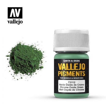 Vallejo Pigments - Chromoxidgrün - 30 ml - (73.112)