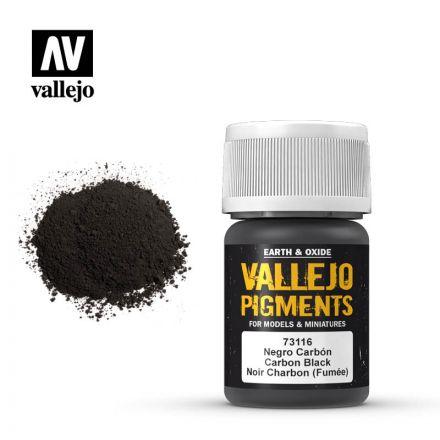 Vallejo Pigments - Lampenschwarz - 30 ml - (73.116)