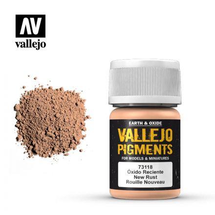 Vallejo Pigments - Neuer Rost - 30 ml - (73.118)