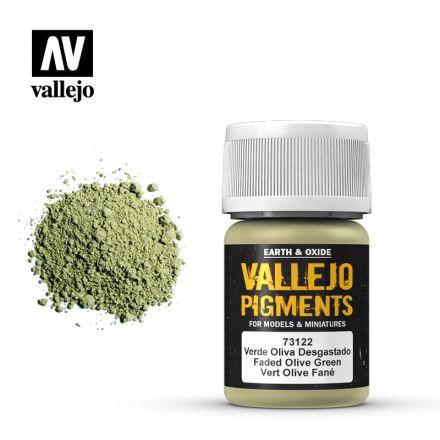 Vallejo Pigments - Verblasstes Olivgrün - 30 ml - (73.122)