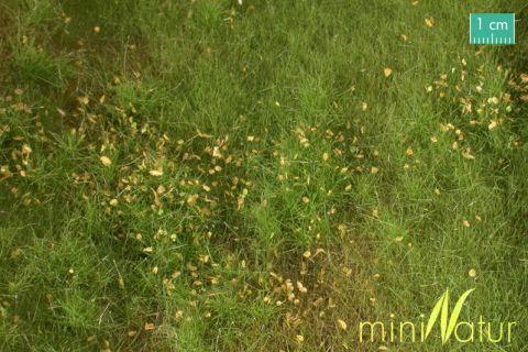 miniNatur Vruchtbare weide met onkruid - Lente - ca. 63x50cm - H0 (1:87) - (734-21)