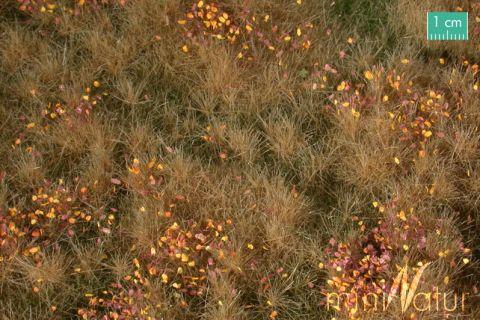 miniNatur Vruchtbare weide met onkruid - Late herfst - ca. 63x50cm - H0 (1:87) - (734-24)