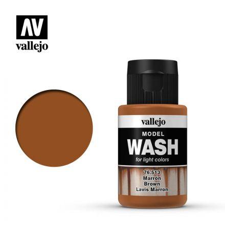 Vallejo Model Wash - Brown - 35 ml - (76.513)