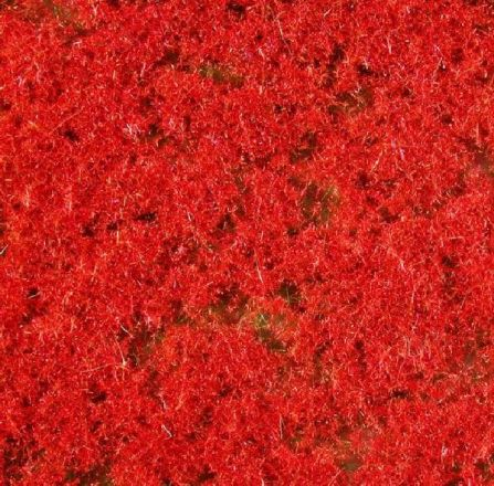 miniNatur Bodembedekker, rood - Zomer - ca. 15x8cm - H0 (1:87) - (791-27S)