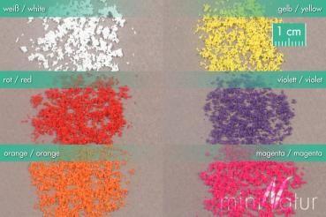 miniNatur Set van lose bloesem - Witte Bloesem - 3g - H0 (1:87) - (898-21MS)
