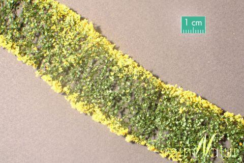 miniNatur Bloemen - Geel - ca. 4 x 7,5 cm - H0 (1:87) - (998-22MS)