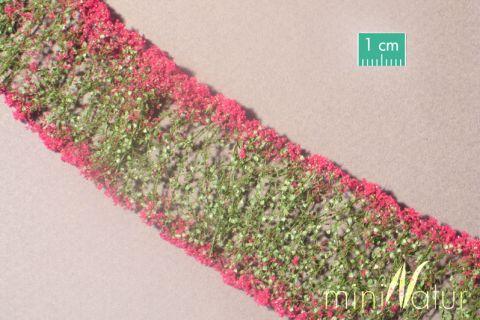 miniNatur Bloemen - Magenta - ca. 4 x 7,5 cm - H0 (1:87) - (998-26MS)