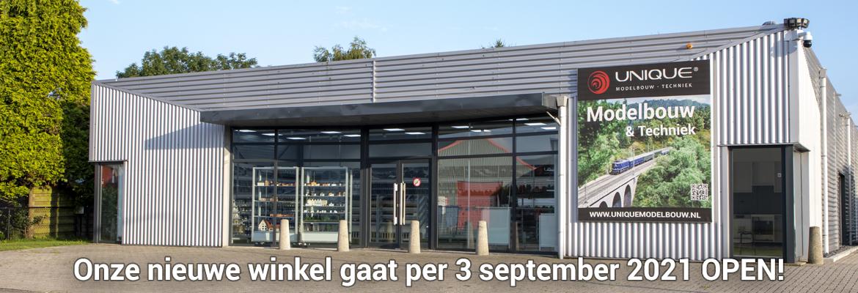 Onze nieuwe winkel op per 3 september 2021
